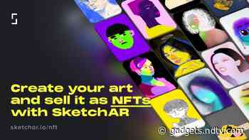 SketchAR App Lets People Create and Auction Their Art as NFTs