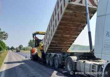 Savigliano: avviato il ripristino della pavimentazione sulla SS 20 a Levaldigi - IdeaWebTv