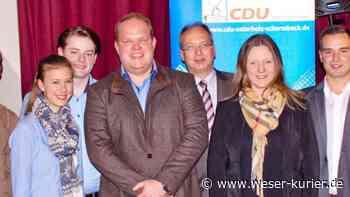 Stefan Haake neuer Vorsitzender der CDU Osterholz-Scharmbeck - WESER-KURIER - WESER-KURIER online