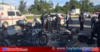 Tamaulipas Tumban a polica motorizado en Ciudad Victoria - Hoy Tamaulipas