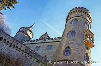 Schloss Landsberg - Kameras spähen Einbrecher aus - inSüdthüringen