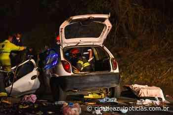 Acidente na Rodovia Piracicaba/ Charqueada deixa dois mortos e uma criança gravemente ferida - Cidade Azul Notícias