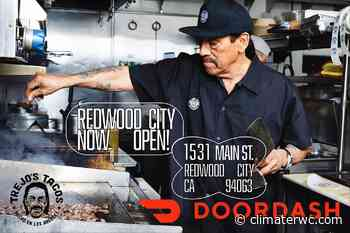Hollywood star Danny Trejo's tacos now offered at DoorDash Redwood City - Climate Online