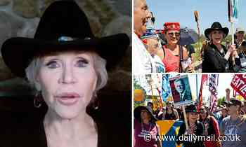 Jane Fonda condemns Joe Biden for failing to be 'bold' on climate change - Daily Mail