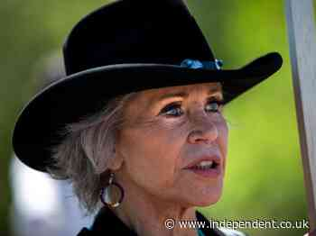 Jane Fonda slams Biden as not 'bold or fast' enough on climate crisis as she joins oil line protest - The Independent