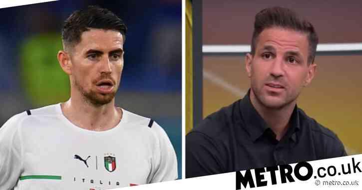 Former Chelsea star Cesc Fabregas identifies Jorginho's main weakness after Italy's victory over Turkey