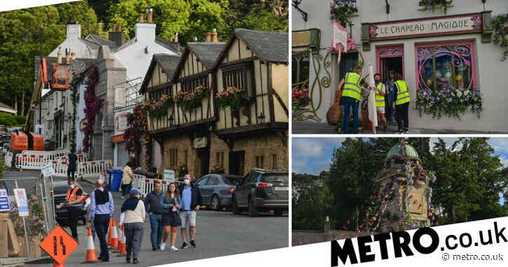Disney bosses give Enniskerry village magical makeover for Enchanted sequel