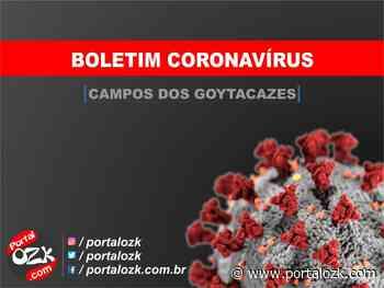 Campos registra 02 óbitos por Covid-19 e mais 91 novos casos da doença - Portalozk.com