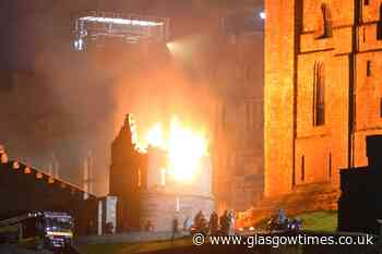 New Indiana Jones film lights up night sky at historic castle - Glasgow Times