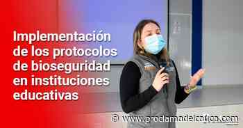 Popayán avanza en la implementación de la alternancia educativa - Proclama del Cauca