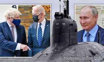 What's Putin doing? Panic over Russian missile submarine stalking UK coast during G7