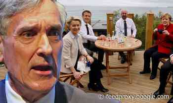 Why are EU chiefs there?! John Redwood blows top at Brussels' 'MAJORITY' at G7