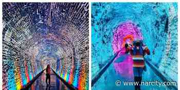 Brockville's Rainbow Tunnel Is Finally Reopening & You Can See The Lightshow For Free - Narcity Canada