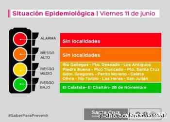 POR TERCERA SEMANA. El Calafate sigue en Verde en el Semáforo Epi0demiológico - FM Dimensión - El Calafate