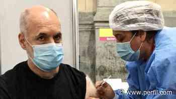 """Rodríguez Larreta se vacunó contra el Covid-19: """"Es la esperanza de volver a encontrarnos"""" - Perfil.com"""