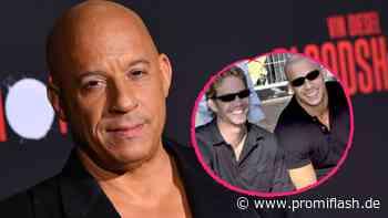 Meadow Walker muntert Vin Diesel mit Foto von Paul (†) auf - Promiflash.de