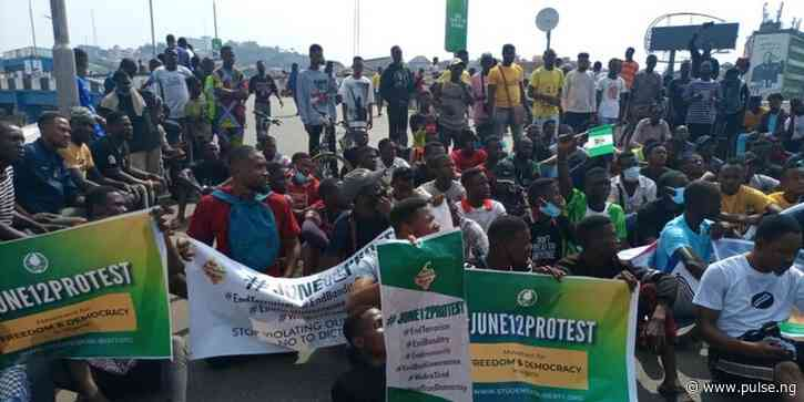 June 12 protests hold in Ibadan and Osogbo as Youths demand better Nigeria