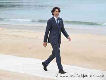 Photo gallery: Canada's prime minister Justin Trudeau at the G7 summit in England - Melfort Journal