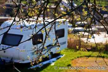 Testpflicht hält viele Camper vom Besuch in Kandern ab - Kandern - Badische Zeitung
