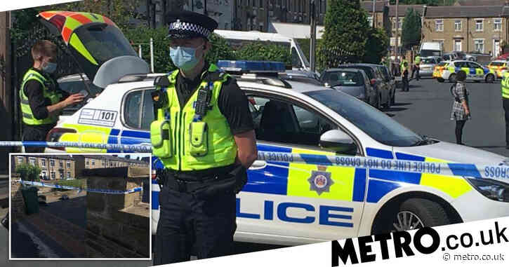 Worshippers horrified as man injured in 'drive-by shooting' near mosque