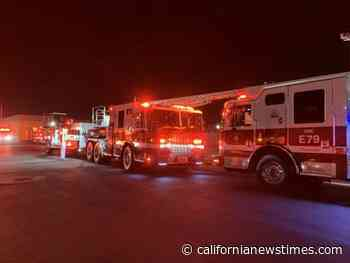 New Santa Ana | Firefighters battled two blazes in Santa Ana last night and early this morning - California News Times