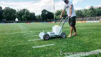 Royals-Premiere im Karl-Liebknecht-Stadion: Linie für Linie zum Football-Feld - Sportbuzzer