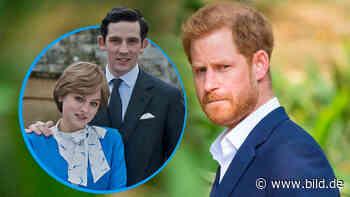 """Haariges Problem bei """"The Crown"""" - Netflix findet keinen Prinz Harry - BILD"""