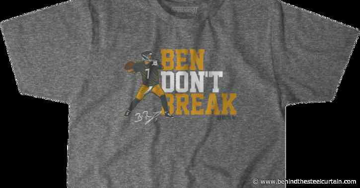 Get the latest BTSC gear for the Steelers quarterback Ben Roethlisberger