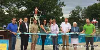 Fun begins at Bethlehem's newly refurbished dive pool