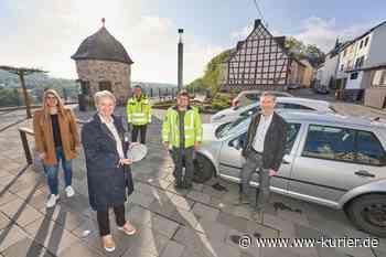 Montabaur testet mit der EVM Parkplatzsensoren - WW-Kurier - Internetzeitung für den Westerwaldkreis