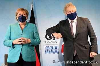 UK-EU Brexit spat over N Ireland clouds G7 leaders summit
