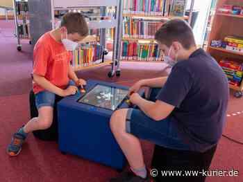 Spieltisch Kuti in der Stadtbücherei Selters - WW-Kurier - Internetzeitung für den Westerwaldkreis
