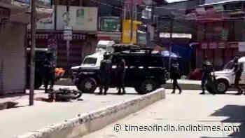 J&K:  Two cops killed in terror attack in Sopore