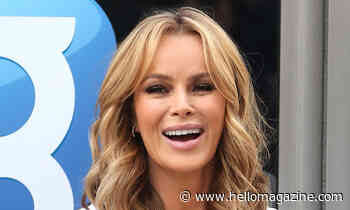 Amanda Holden looks impossibly flawless in post-run selfie
