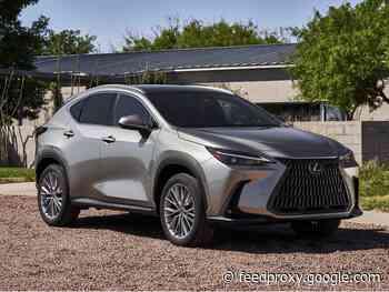 Lexus NX adds PHEV, infotainment revamp for 2022