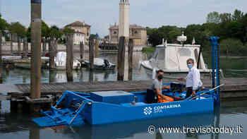 Motobarca e macchine spazzolatrici: ripulito il porticciolo di Casier - TrevisoToday
