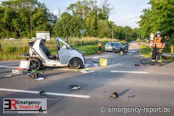 11.06.2021 – Rommerskirchen Frixheim – Verkehrsunfall auf Landstraße fordert 4 verletzte - Emergency-Report.de