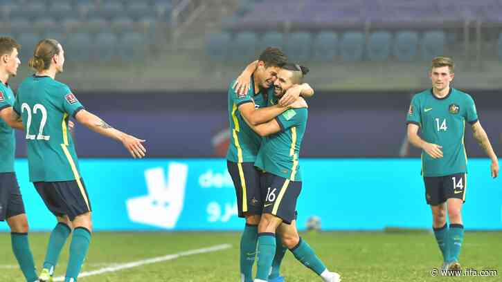Australia advance on goal-filled day in Asia