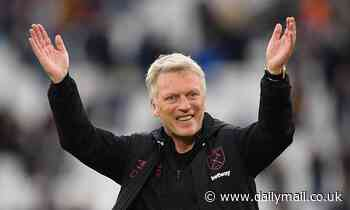 West Ham manager David Moyes signs a bumper new three-year deal to stay at the London Stadium
