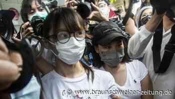 Hongkong: Demokratie-Aktivistin Chow aus Haft entlassen