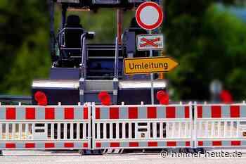 Neue Fahrbahndecke für die Waldstraße - Honnef heute