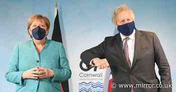 Boris Johnson ambushed at G7 over Brexit 'sausage war' as he meets EU chiefs