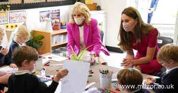 Passionate Kate teams up with Jill Biden with bid to help pre-school kids