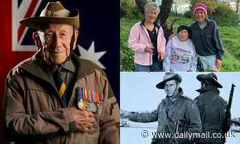 WWII veteran Henry 'Corky' Caldwell, who never missed an ANZAC Day march,has died at age 101