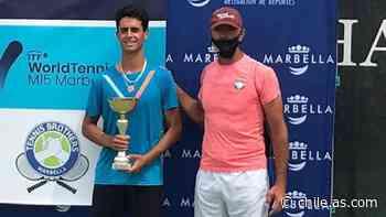 De La Florida a España: el tenista chileno que se codea con Rublev y Khachanov - AS Chile