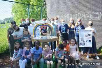 Leerlingen bedachten pandamachine die hen helpt bij tekenen en kleuren - Het Nieuwsblad