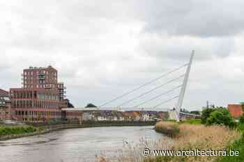 ZJA ontwerpt ranke fietsbrug over de Schelde in Wetteren - architectura.be