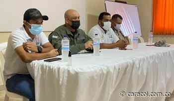Autoridades y comerciantes lideraron reunión sobre seguridad en Magangué - Caracol Radio