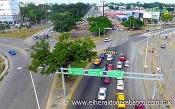 Distribuidor Guayabal con avance del 35%: SOTOP - El Heraldo de Tabasco