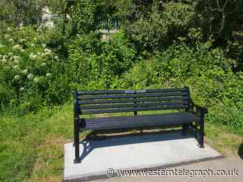 New seat in Pembroke highlights historic tale and memory of Cllr Phillips parents - Western Telegraph